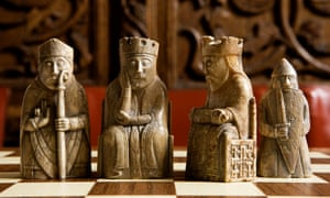 Game of thrones for real … the Lewis Chessmen.
