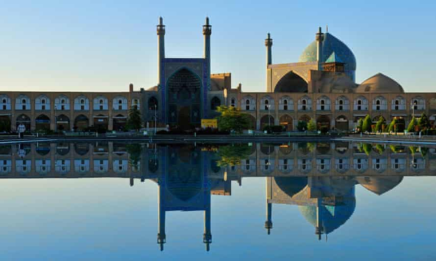 The mosque at Meydan-e Emam, a Unesco world heritage site in Isfahan