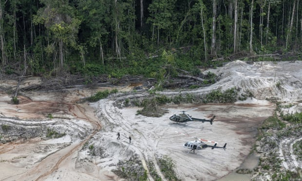 theguardian.com - Dom Phillips - Illegal mining in Brazil's rainforests has become an 'epidemic