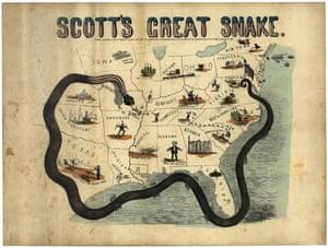 Scott's Great Snake, 1861
