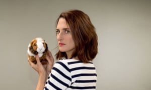 Camille Cottin in Mouche - the French version of Fleabag.