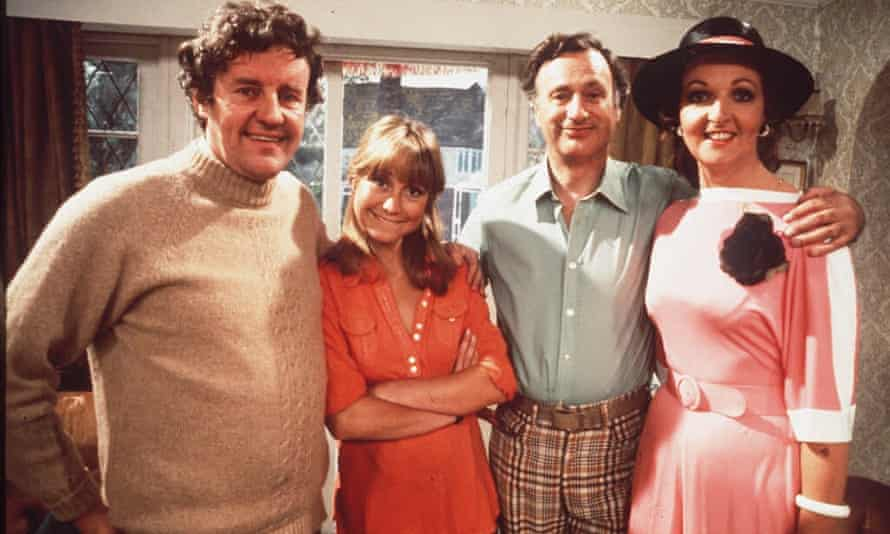 Richard Briers, Felicity Kendal and Penelope Keith and Paul Eddington in The Good Life