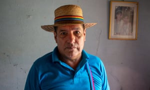 Enrique Fernández survived an assassination attempt in February this year. He says he hasn't slept a full night since then.