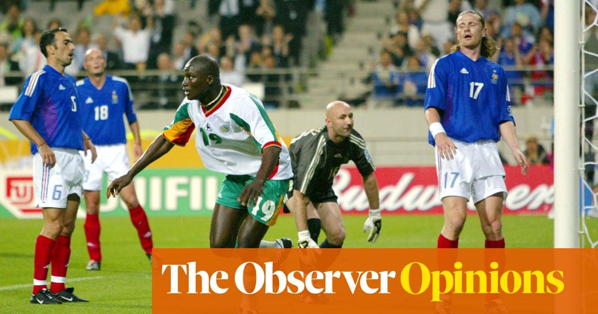 Papa Bouba Diop's winner against France was Senegals Maradona moment | Jonathan Wilson
