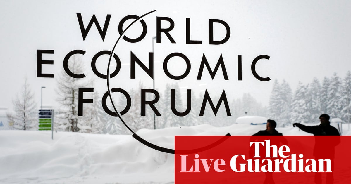 Davos 2019: Hammond meets business leaders on Brexit - live