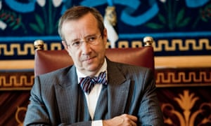 President Toomas Hendrik Ilves says Estonia does have a national database of data on its citizens, but that individuals have to be notified if their information is accessed.