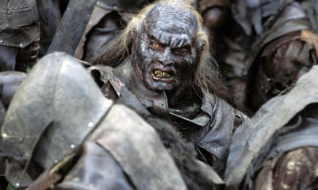 an orc from lord of the rings