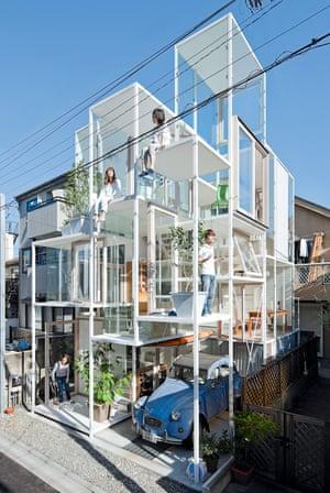 House NA, Sou Fujimoto, 2011, Tokyo, Tokyo Prefecture