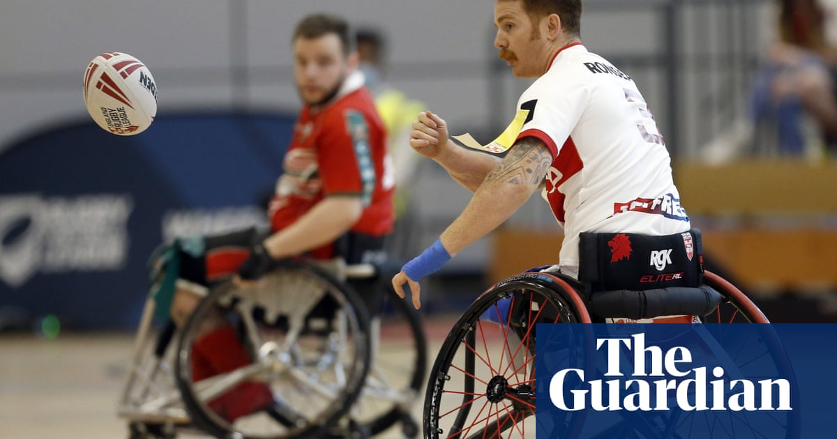Wheelchair rugby league's James Simpson: 'I want them to be inspired'