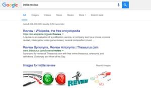 intitle: search