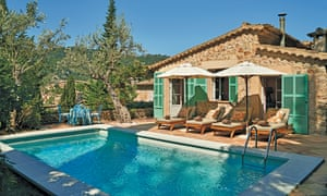 The pool at Suite 67 at Belmond La Residencia.