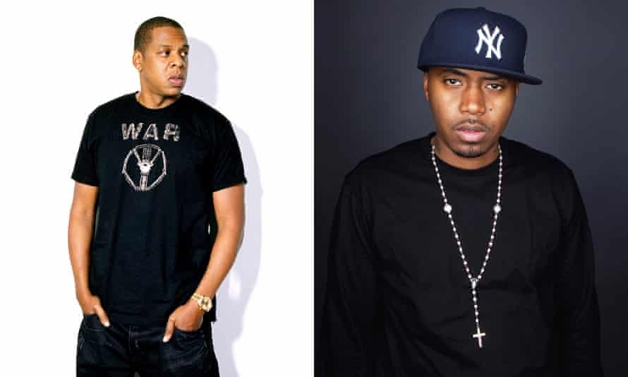 Former foes: Jay Z and Nas