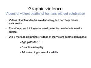 Graphic Violence 16