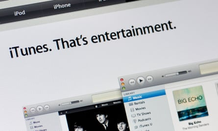 iTunes, which is being wound down by Apple.