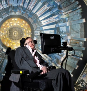 Stephen Hawking at the Science Museum, London, in 2013.