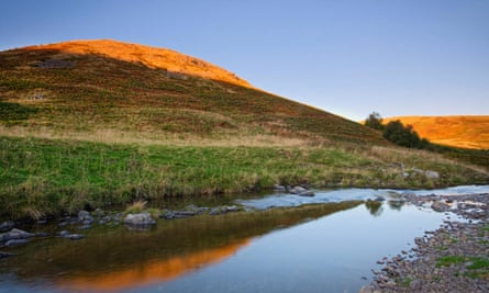 The River Coquet near Alwinton in the Northumberland National Park