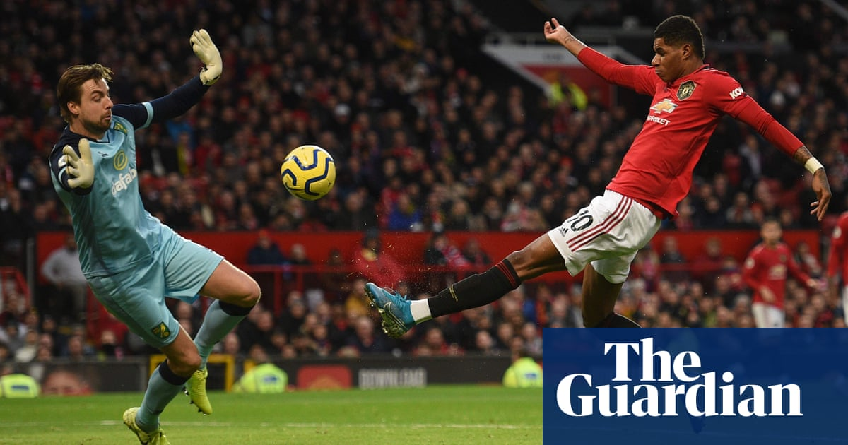 Solskjær hails top class Marcus Rashford after brace in 200th Manchester United appearance – video