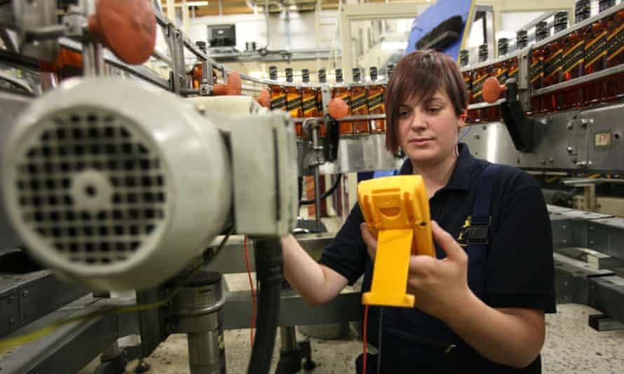 apprentice engineer at Diageo