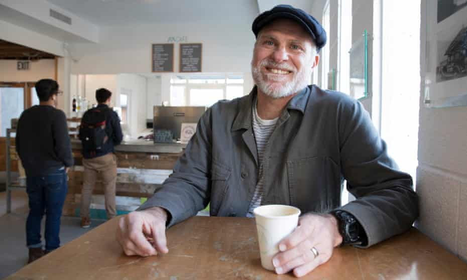 Pastor Steve Snook of Metropolis Cafe that operates on a donation based pricing system in Santa Monica California.