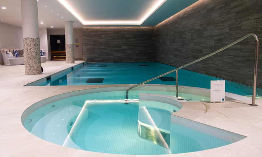 The swimming pool at Audley Nightingale Place retirement village in Clapham.