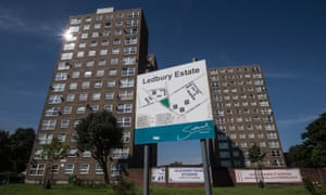 The Ledbury estate in south-east London