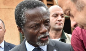 The head of the Minusca mission in Central African Republic, Parfait Onanga-Anyanga