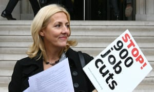 Unite's former political director Jennie Formby, pictured in 2009.
