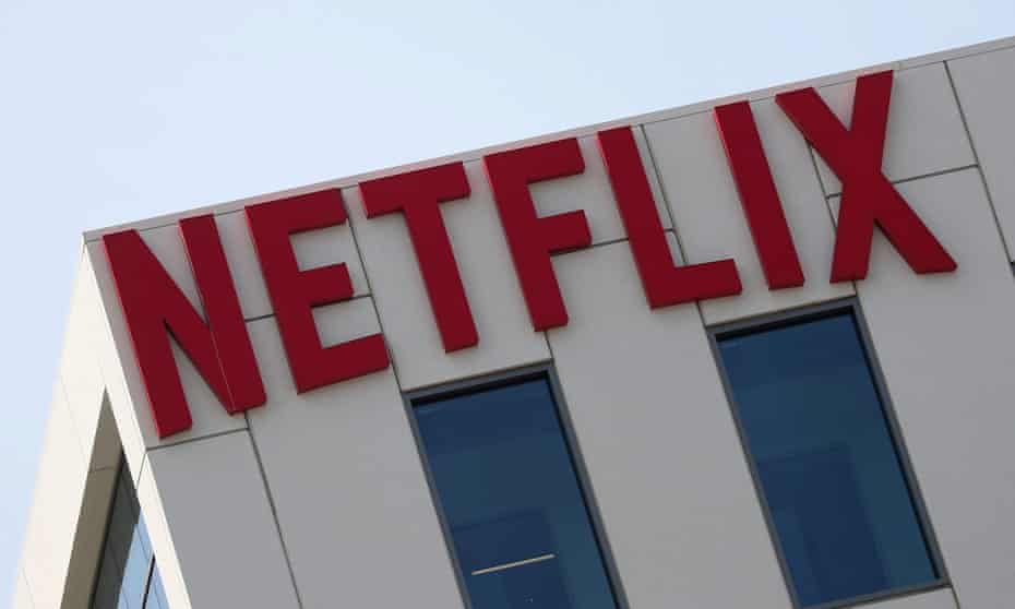 The Netflix office in Los Angeles.