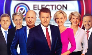Channel Nine's lineup