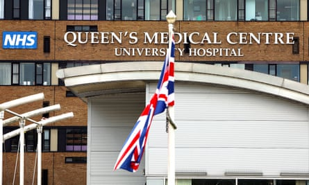 The woman died at Queen's medical centre on 3 March, two days earlier than the first recorded Covid-19 death in the UK.