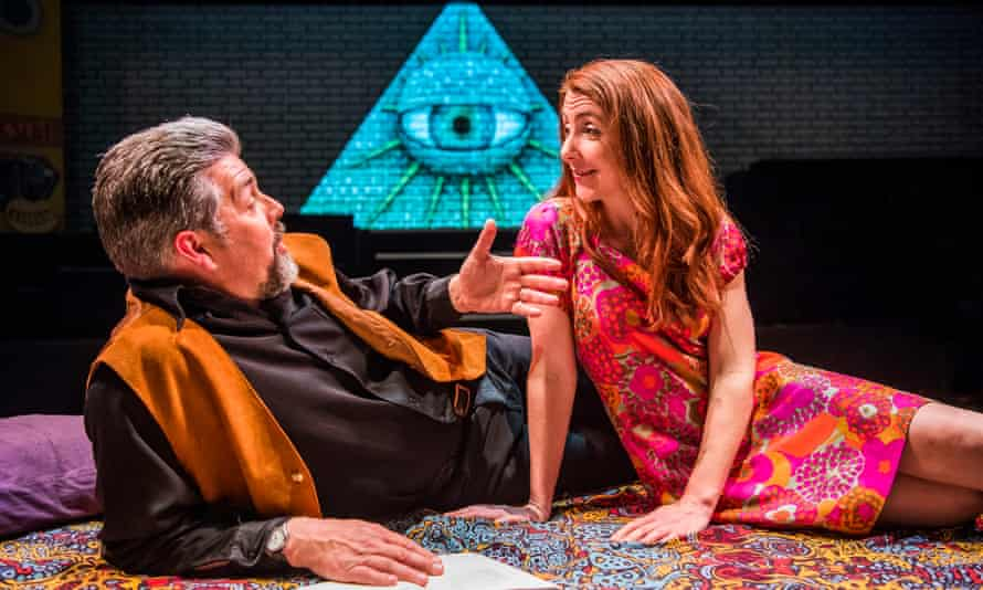 Wacky wisdom … Oliver Senton and Kate Alderton in Cosmic Trigger.