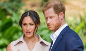 meghan and prince harry in Johannesburg, South Africa