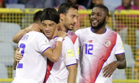 Costa Rica are coming off a win against Trinidad & Tobago in World Cup qualifying