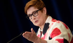 The foreign affairs minister, Marise Payne.