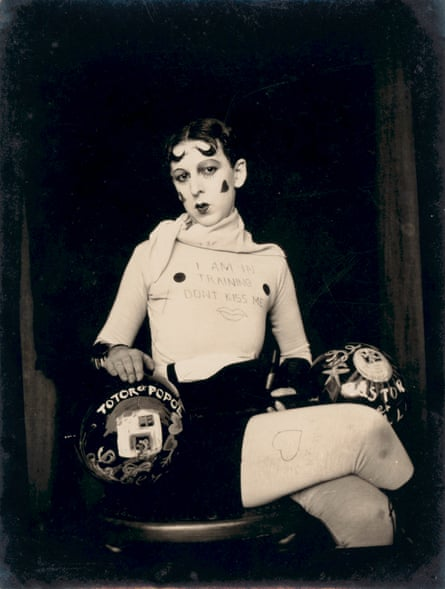 Self-portrait from Cahun's 'I am in training don't kiss me' series, c1927.