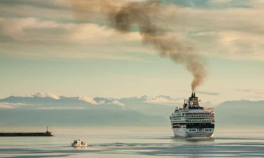 Air pollution from international shipping accounts for around 50,000 premature deaths per year in Europe, at an annual cost to society of more than €58bn, figures show.