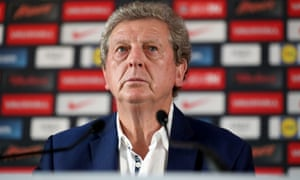 Roy Hodgson during a press conference in Chantilly, France, on Tuesday afternoon.