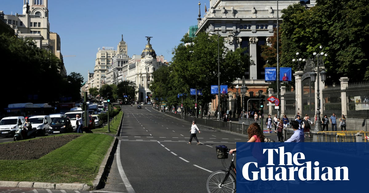 It's the only way forward': Madrid bans polluting vehicles