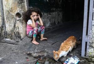 A street scene in Caracas