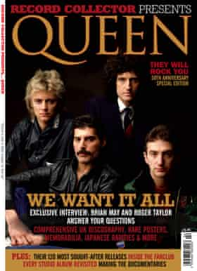 The front cover of Record Collector Presents … Queen.