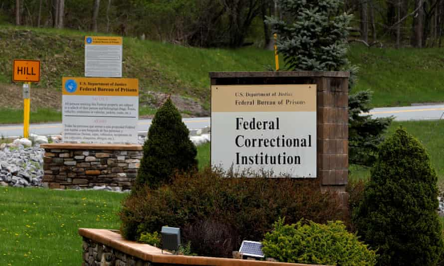 The entrance to the federal correctional institution at Otisville, New York, where Michael Cohen will be imprisoned for three years.