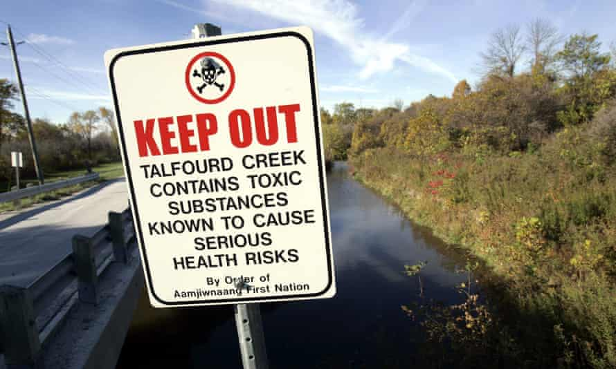 Aamjiwnaang First Nation, a small Indigenous reserve in Ontario surrounded on all sides by chemical facilities, has recorded anomalies in birth rates.
