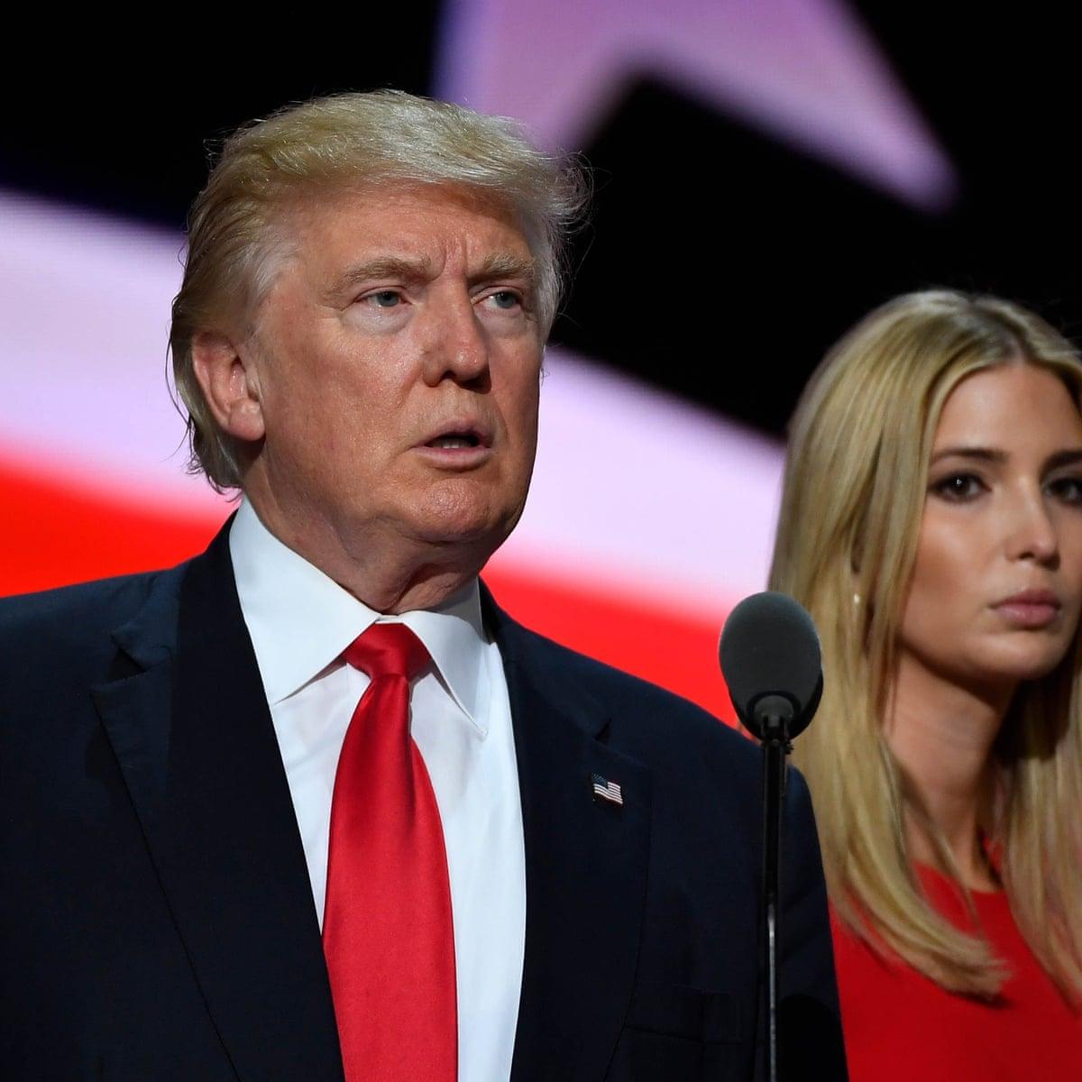 Ivanka Trump Says Liberals Have Unrealistic Expectations Of Her Ivanka Trump The Guardian