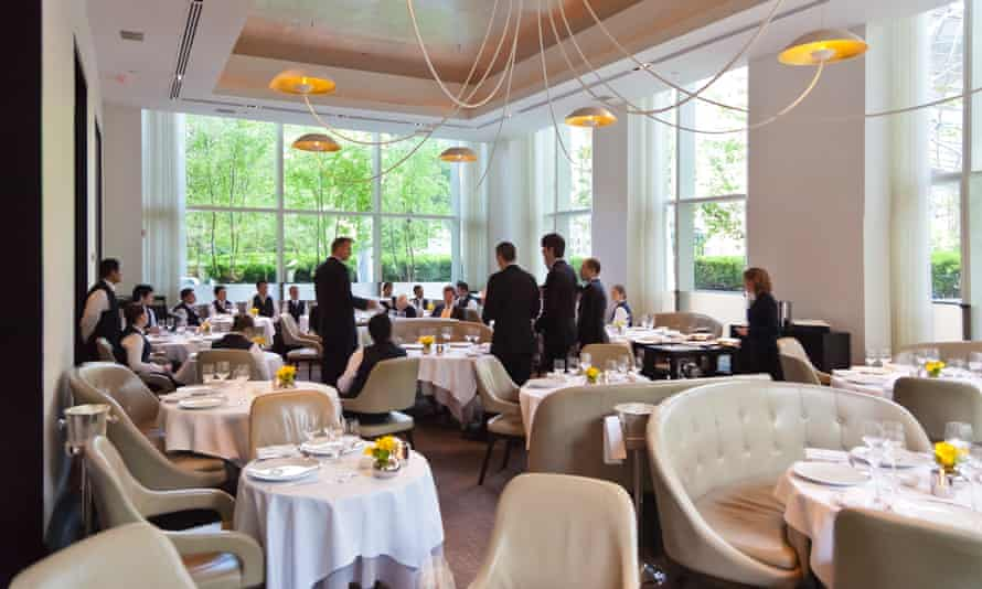 'Expensive can be quite something': Jean-Georges in New York.