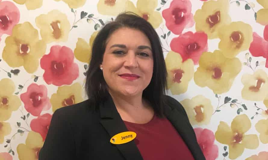 Jenny Oakley, deputy care home manager.