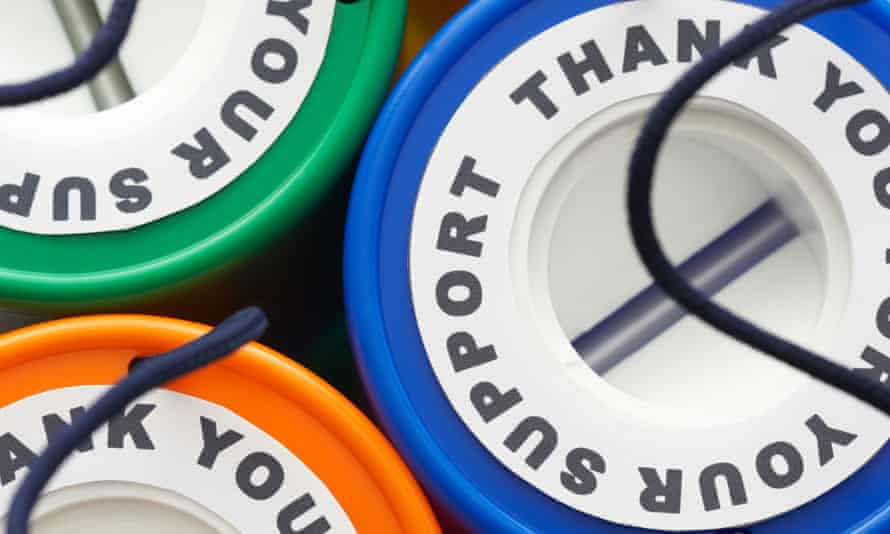Charity collection boxes