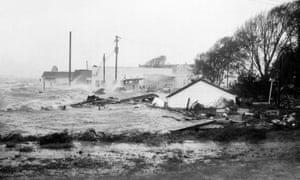 In October 1954, Hurricane Hazel destroyed the coast of North Carolina.