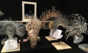 Follies costumes and headdresses by Vicki Mortimer