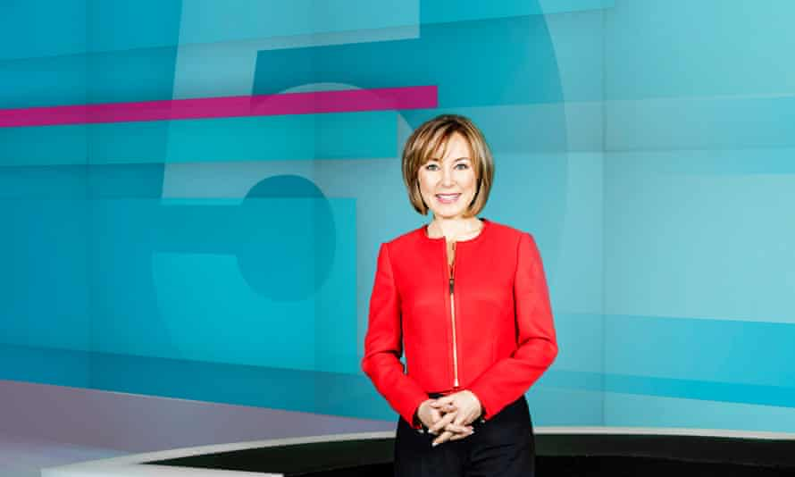 Sian Williams, presenter of 5 News at 5