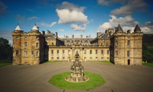 The Palace of Holyroodhouse, Edinburgh, where Mary's apartments are open to visitors.